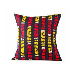 ankara throw pillow